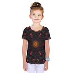 Ornament Background Tender Web Kids  One Piece Tee