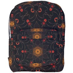Ornament Background Tender Web Full Print Backpack