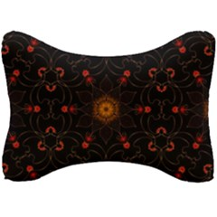 Ornament Background Tender Web Seat Head Rest Cushion