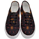 Ornament Background Tender Web Women s Classic Low Top Sneakers View1