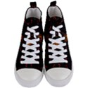Ornament Background Tender Web Women s Mid-Top Canvas Sneakers View1