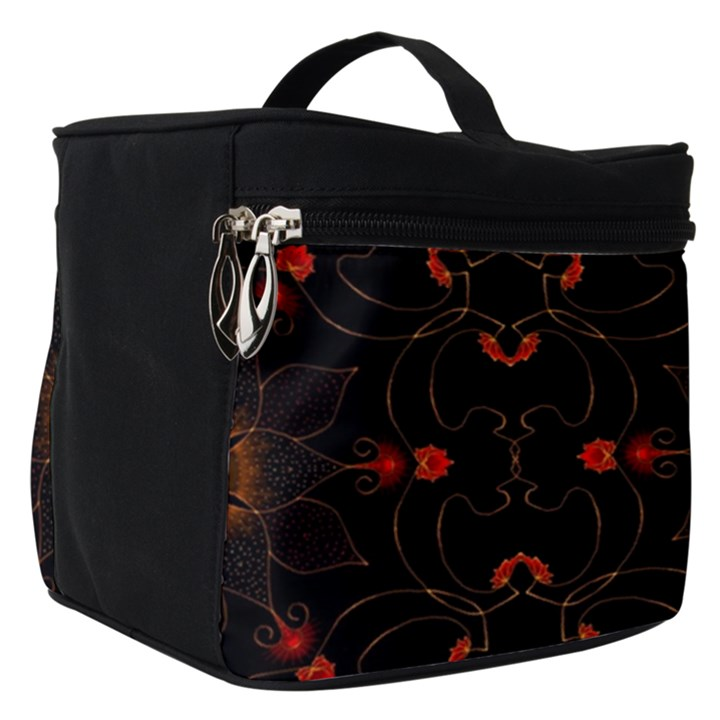 Ornament Background Tender Web Make Up Travel Bag (Small)