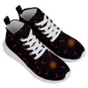 Ornament Background Tender Web Women s Lightweight High Top Sneakers View3
