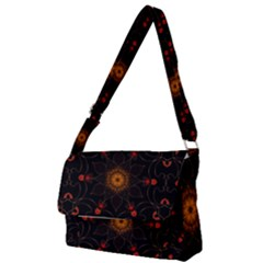Ornament Background Tender Web Full Print Messenger Bag