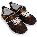 Ornament Background Tender Web Kids  Velcro Strap Shoes View3