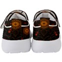 Ornament Background Tender Web Kids  Velcro Strap Shoes View4
