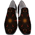 Ornament Background Tender Web Slip On Heel Loafers View1