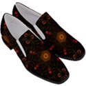 Ornament Background Tender Web Slip On Heel Loafers View3