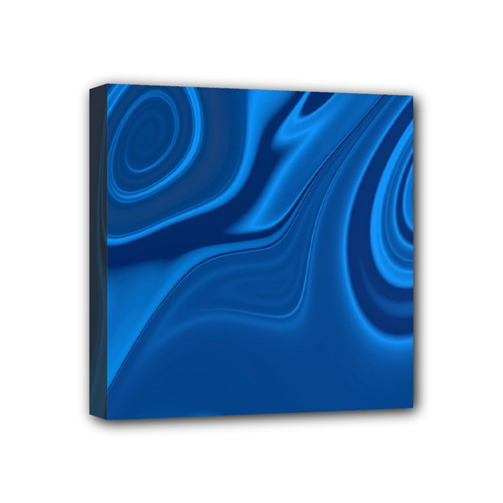 Rendering Streak Wave Background Mini Canvas 4  x 4  (Stretched)