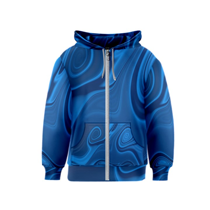 Rendering Streak Wave Background Kids  Zipper Hoodie