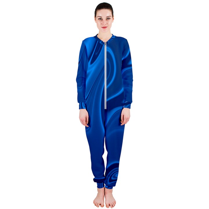 Rendering Streak Wave Background OnePiece Jumpsuit (Ladies)
