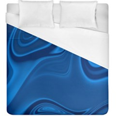 Rendering Streak Wave Background Duvet Cover (king Size)
