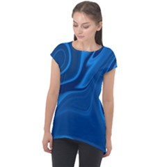 Rendering Streak Wave Background Cap Sleeve High Low Top