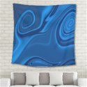 Rendering Streak Wave Background Square Tapestry (Large) View2
