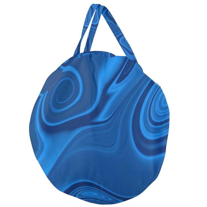 Rendering Streak Wave Background Giant Round Zipper Tote