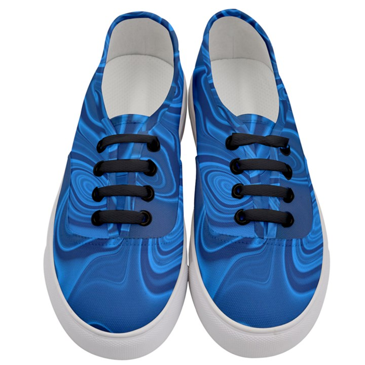 Rendering Streak Wave Background Women s Classic Low Top Sneakers