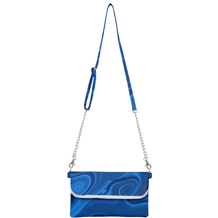 Rendering Streak Wave Background Mini Crossbody Handbag