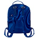 Rendering Streak Wave Background Flap Pocket Backpack (Large) View3