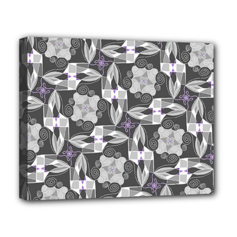Ornament Pattern Background Deluxe Canvas 20  X 16  (stretched)