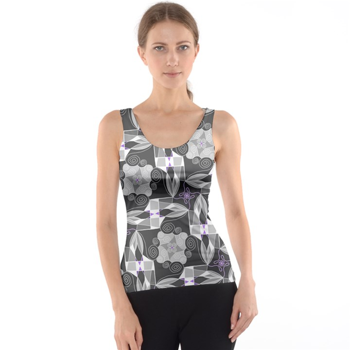 Ornament Pattern Background Tank Top