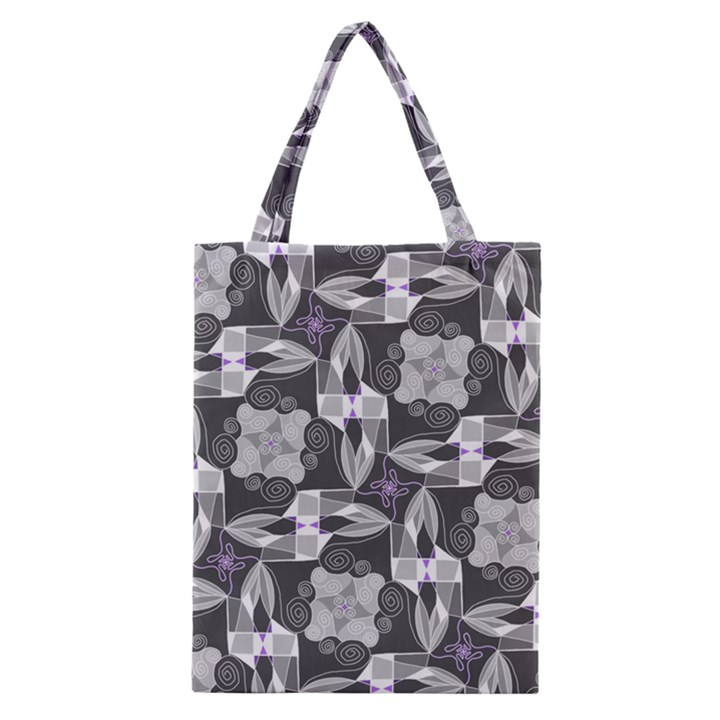 Ornament Pattern Background Classic Tote Bag