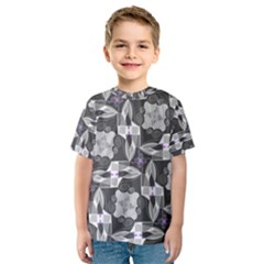 Ornament Pattern Background Kids  Sport Mesh Tee