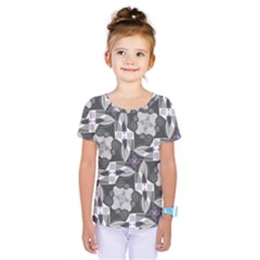 Ornament Pattern Background Kids  One Piece Tee