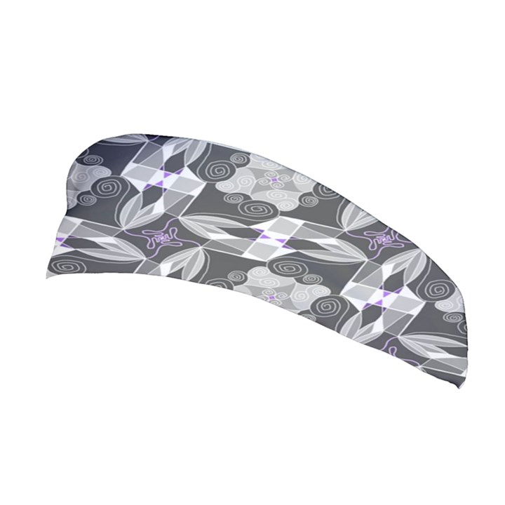 Ornament Pattern Background Stretchable Headband