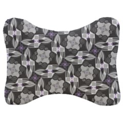 Ornament Pattern Background Velour Seat Head Rest Cushion