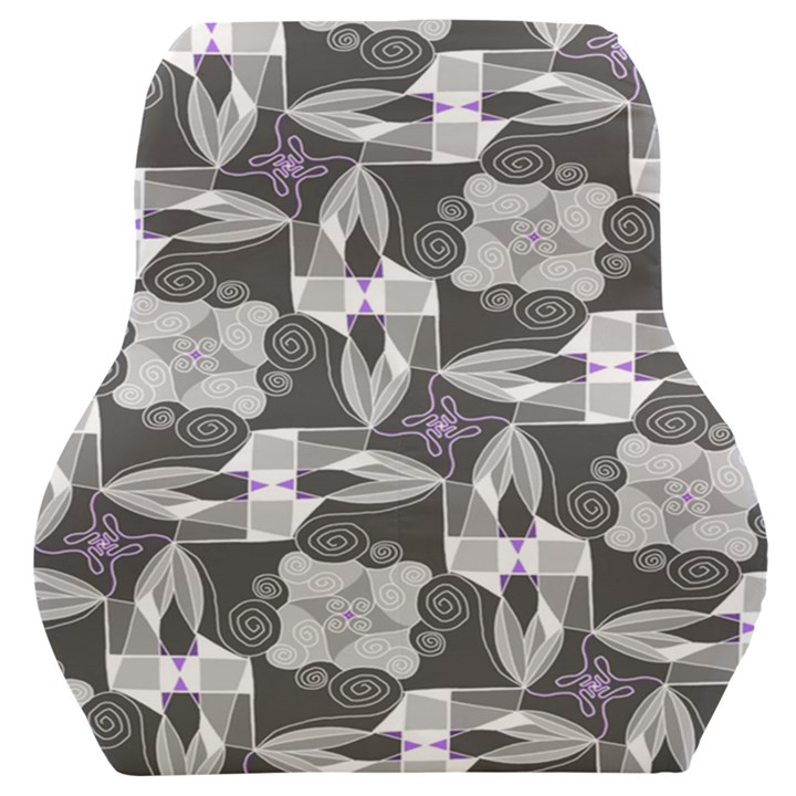 Ornament Pattern Background Car Seat Back Cushion