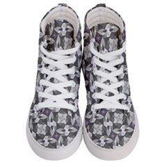 Ornament Pattern Background Women s Hi Top Skate Sneakers
