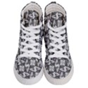 Ornament Pattern Background Women s Hi-Top Skate Sneakers View1