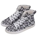 Ornament Pattern Background Women s Hi-Top Skate Sneakers View2