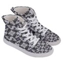 Ornament Pattern Background Women s Hi-Top Skate Sneakers View3