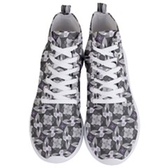 Ornament Pattern Background Men s Lightweight High Top Sneakers
