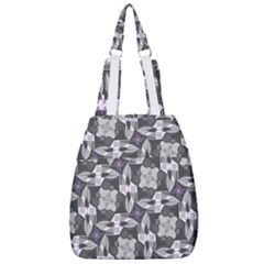 Ornament Pattern Background Center Zip Backpack