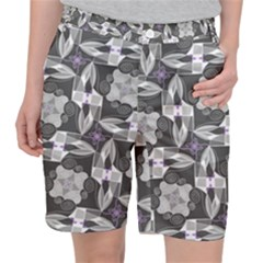 Ornament Pattern Background Pocket Shorts