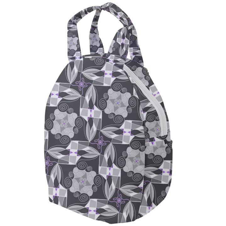 Ornament Pattern Background Travel Backpacks