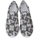 Ornament Pattern Background Men s Slip On Sneakers View1
