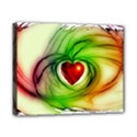 Heart Love Luck Abstract Canvas 10  x 8  (Stretched) View1