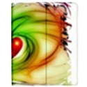 Heart Love Luck Abstract Apple iPad 2 Flip Case View1