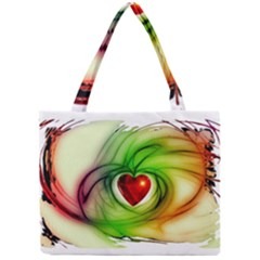 Heart Love Luck Abstract Mini Tote Bag by Pakrebo