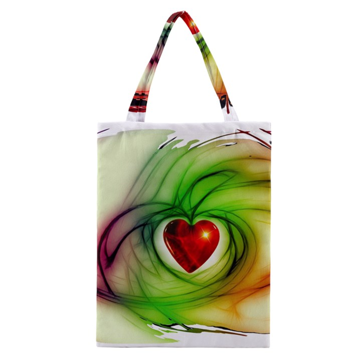 Heart Love Luck Abstract Classic Tote Bag
