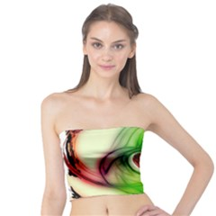 Heart Love Luck Abstract Tube Top