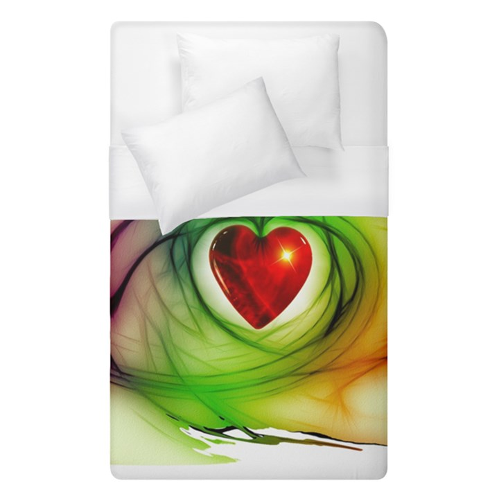 Heart Love Luck Abstract Duvet Cover (Single Size)