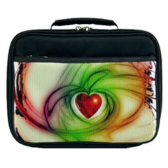 Heart Love Luck Abstract Lunch Bag