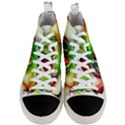 Heart Love Luck Abstract Men s Mid-Top Canvas Sneakers View1