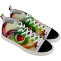 Heart Love Luck Abstract Men s Mid-Top Canvas Sneakers View3