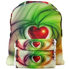 Heart Love Luck Abstract Giant Full Print Backpack