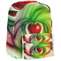 Heart Love Luck Abstract Giant Full Print Backpack View3